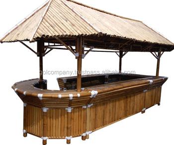 en Gros] Meubles De Jardin En Bambou-bambou Tiki Bar Cabane ...