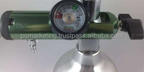 Medical Pin Index O2 Valve Cga-870 For Breathing Oxygen Cylinders ...