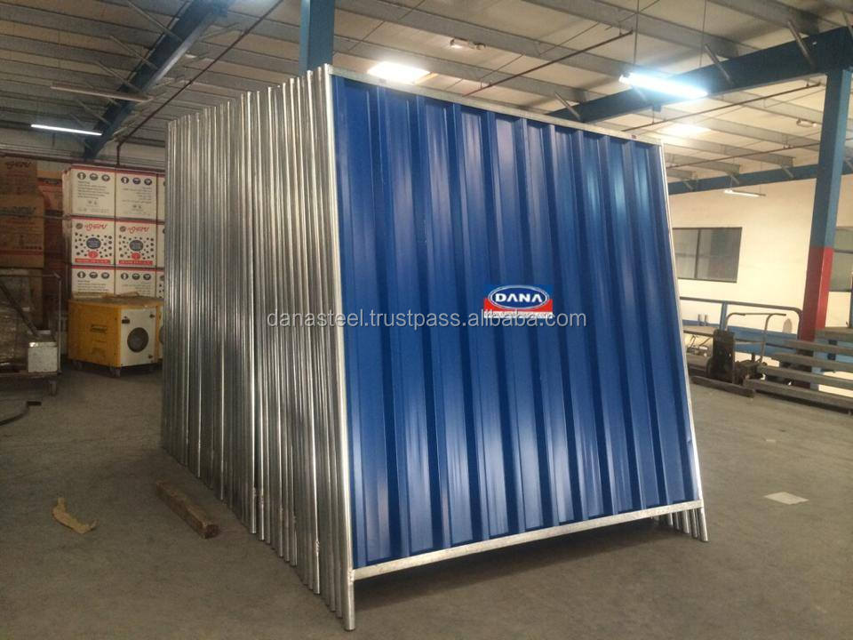 Temporary Steel Corrugated Fencing Panels Supplier Buy