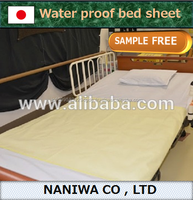 Waterproof incontinence bed sheet sale made in Japan for wholesale