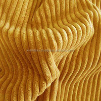 Mustard Corduroy Cotton Fabric For Mens Garments Collections