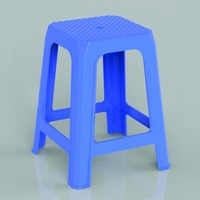 Outdoor stackable plastic chair seating metal frame folding chair F186