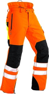 High quality fire retardant work pants with reflective tape