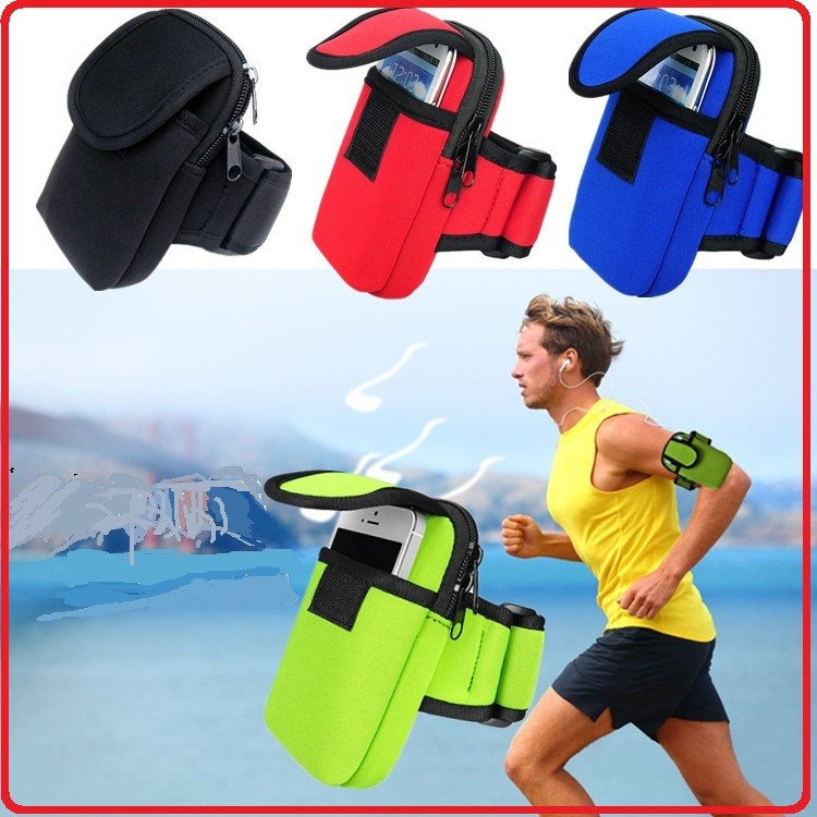 Cheap custom neoprene sport phone pouch armband by Chinese supplier