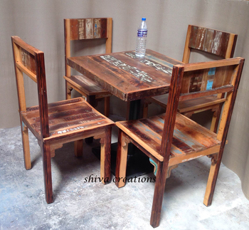 Reclaimed Wood Restaurant Tables Chairs For Sale Buy Reclaimed