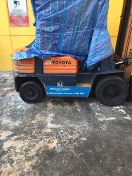 Used Toyota 2 5 Ton Diesel Forklift For Sale And Rental Singapore - Buy  Toyota Forklifts,Material Handling Equipment,Used Forklifts Product on