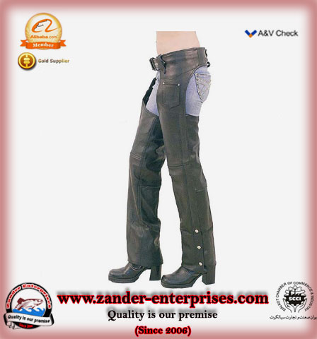 leather chaps by zander enterprises