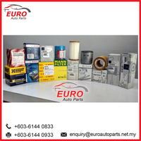 Euro Car Oil Filters Parts for Audi, BMW, Mercedes, Benz, Porsche and Volkswagen