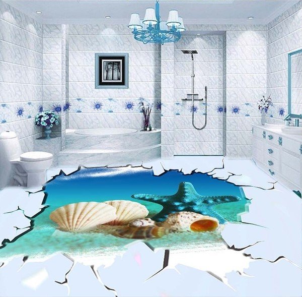 Porcelain Tiles 3d Almost Real Scenery 3d Wall Tiles