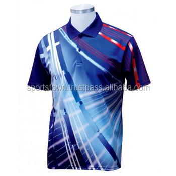 Custom Sublimated Polo Shirt bafddfbce7