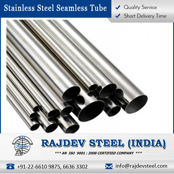 Premium Quality High Grade Stainless Steel Seamless Tube 316L by Popular Manufacturer