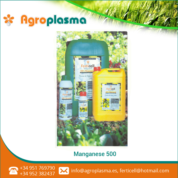 Organically Produced Manganese-500 for Best Soil Mix, Plant Growth