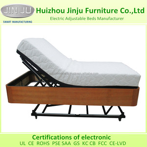 Wooden Outer Frame HiLo Flex Motorized Bed