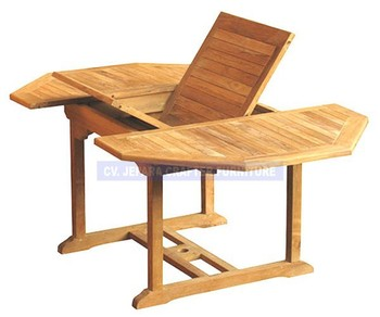Jardin Meubles D\'extérieur En Teck Table D\'extension Octogonal - Buy ...