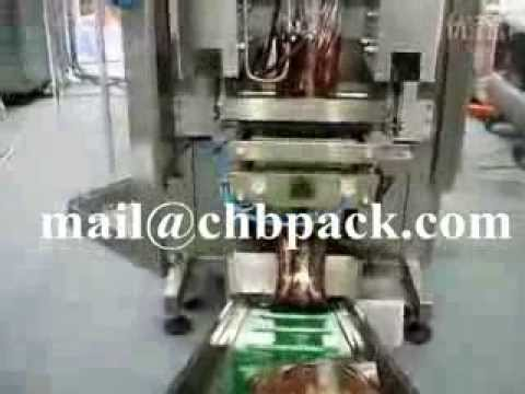 sauce packaging machine,automatic soy hot sauce packaging machine,Good Price