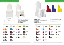 Banquet Chair Covers, Table Covers