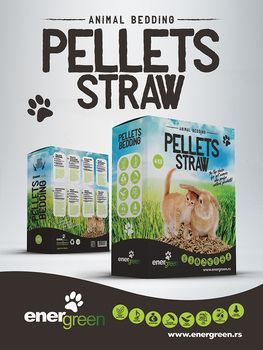 Pellets Straw Animal Bedding For Cats Rabbits And Other Small Pets