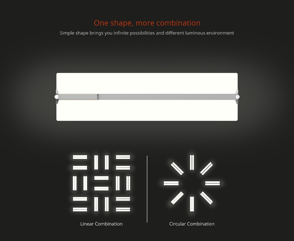 36W Clear LED Office Light Suspended Mounted Ultra Thin Led Light Panel, 8mm Mitsubishi LGP