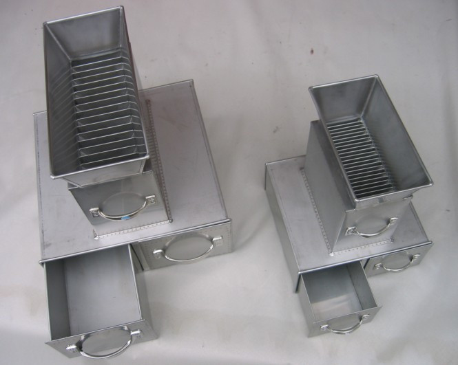 Stainless Steel Lab Sample Splitter, Sample Splitters Riffle box