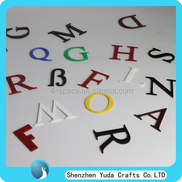 3 Inch Clear Perspex Letter Cut To Size Thick 3d Acrylic