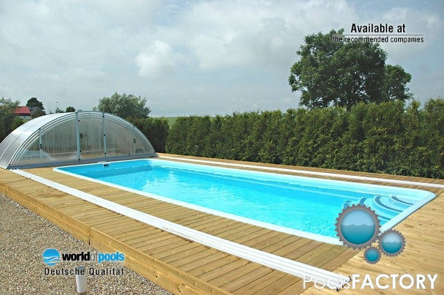 polyester pool swimming pool fibreglass swimming pool. Black Bedroom Furniture Sets. Home Design Ideas