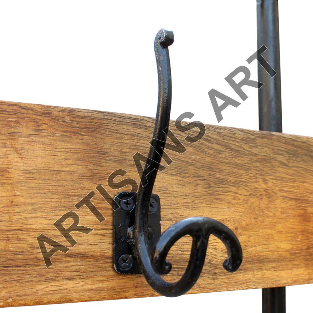 110 Cm Largamente Vintage Industriale Metallo Coat Hanger, Mobili ...