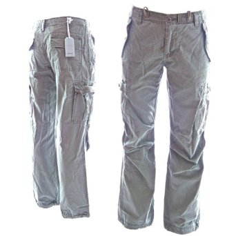 Oil Dirt Pocket Vintage Slim Cargo Pants - Buy Gray Cargo Pants ...