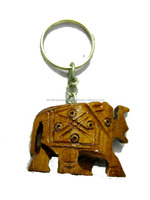 Buy Online Indian Traditional Wooden Art Animals Key Chains