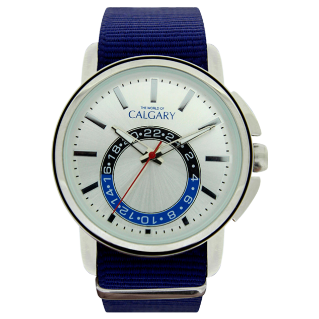 Calgary Watches new ashbury watches, blue and white gold