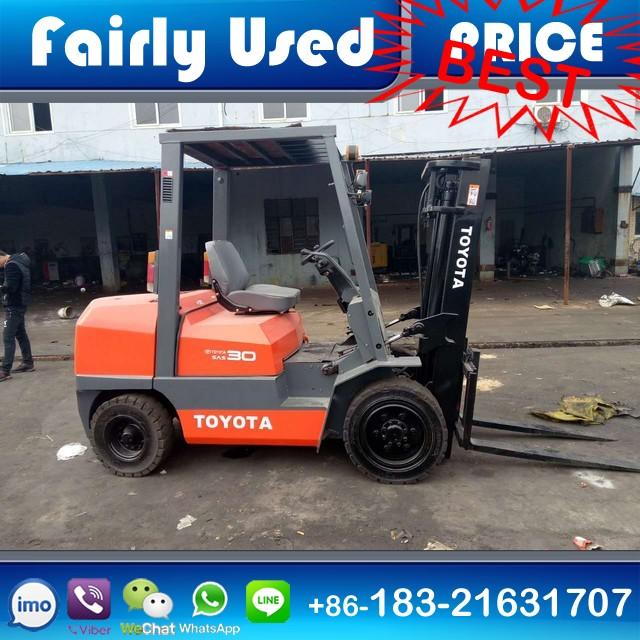 Used Toyota Forklift FD30 3 ton for sale