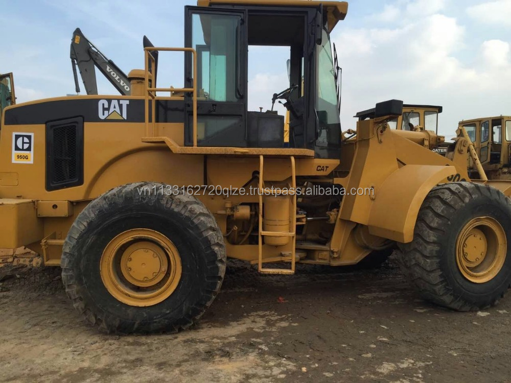 Cheap construction machine used caterpiller 950G wheel loader