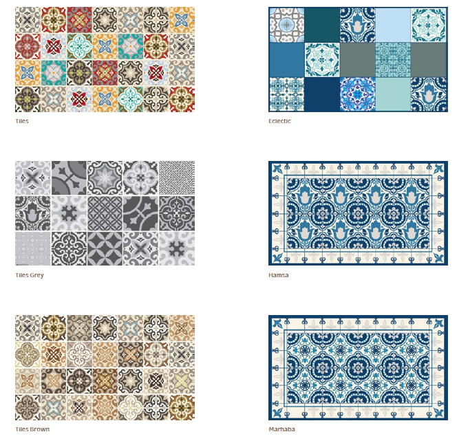 pvc vinyle tapis 60x80 cm tapis tuiles gris tapis tapis pvc plancher en vinyle cuisine salon. Black Bedroom Furniture Sets. Home Design Ideas