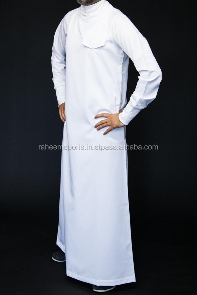Muslim Clothing Daffah Arabic Thobe Supplier 2016