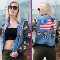 FactorytoShop (UK) - Provider of Droppshipper and Wholesale Cool Stylish Bomber Jacket - Jeans Pathed