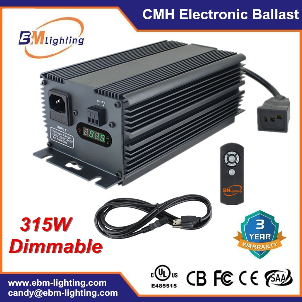 Hydroponics Lighting Ballast 630w Double Ended Cmh Digital Ballast ...
