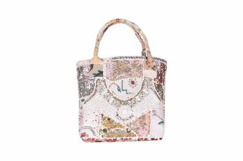 Indian Designer Bride Handbag Tridal Tote Hippie Bag Genuine Gypsy Shoulder