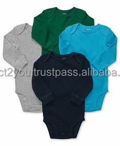 efa268d50988 Top Quality Newborn Baby Unisex Romper 100% Cotton Baby Onesie Black ...