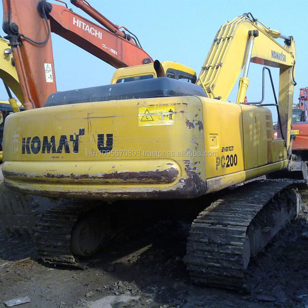 Used Komatsu Pc200-6 Crawler Excavator,Cheap Komatsu Pc200-6 - Buy Used  Komatsu Pc200-6 Excavator,Komatsu Pc200-6 Excavator,Used Komatsu