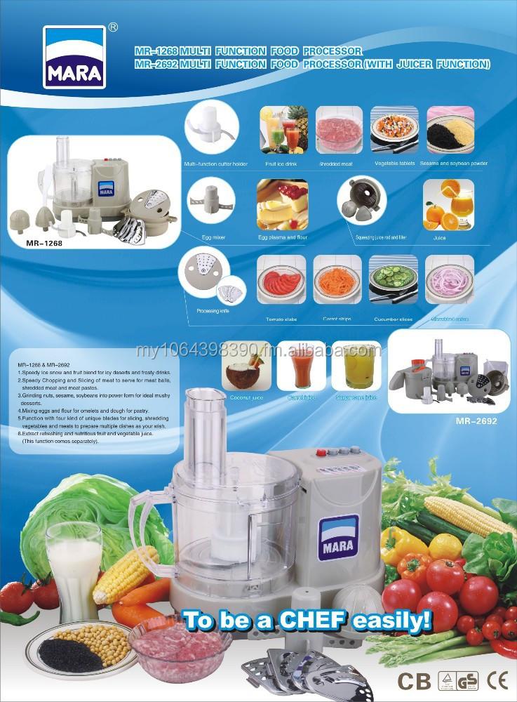 Mara Multi Function Food Processor