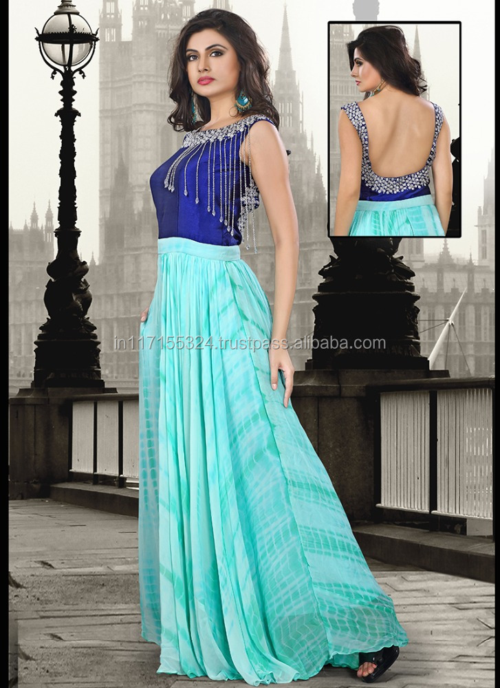 2015 Ladies Long Evening Party Wear Gown Latest Design Gown - Buy ...