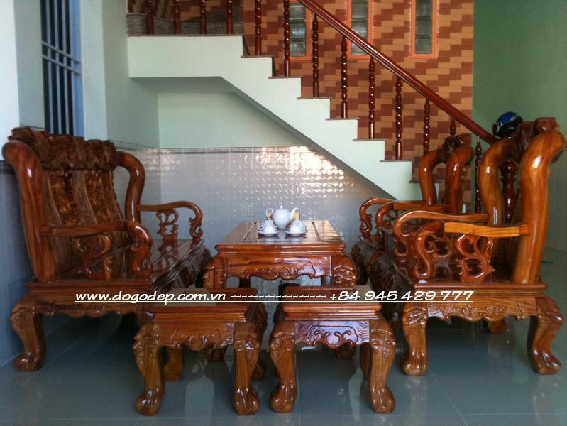 Wooden Sofa Sets   Carved Wooden Crafts Natural For Living Room