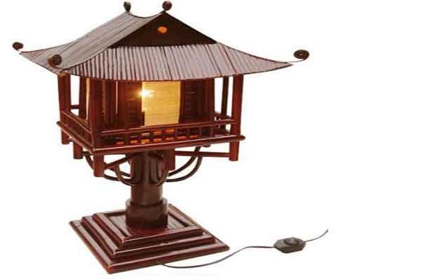 Billige Bambus Lampe Dekorative Lampe Fur Hauptdekoration Handarbeit