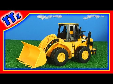 Wheel Loader Toy - Truck Tunes Caterpillar Front Loader Toy - Construction Equipment