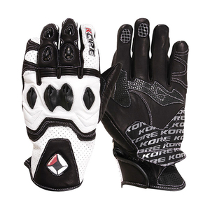 Leather Gloves for Men, Racing Gloves, Motorcycle Gloves