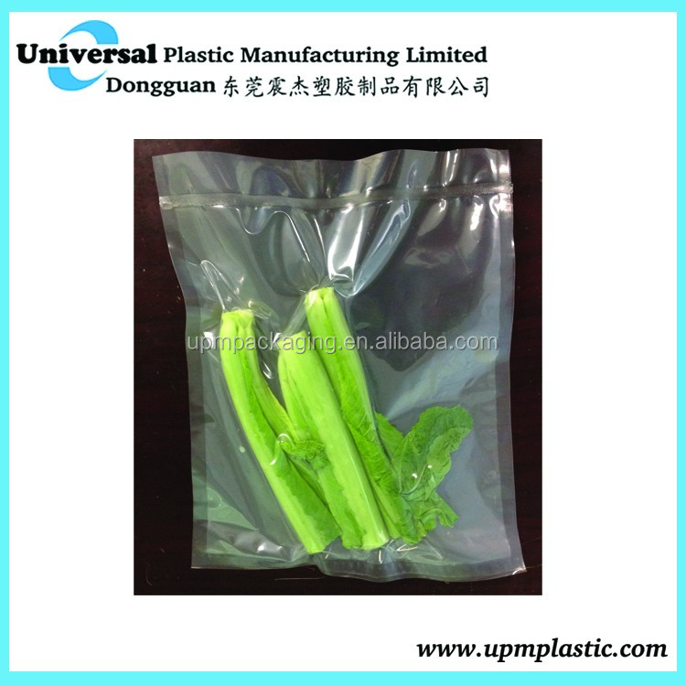 Food saver compatible vacuum bag