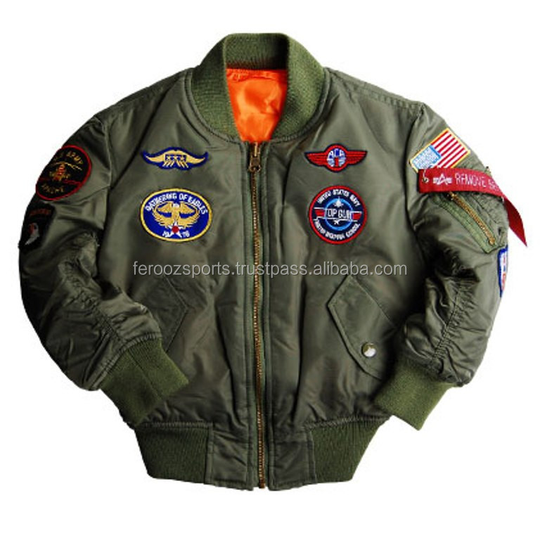 Fashion Bomber Jacket Custom Bomber Jackets Flight Jacket Men 2016 ...