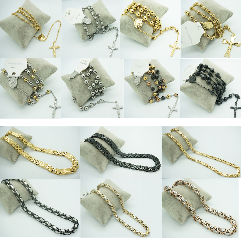 Silver Jewelry Fashion Men Chain Jewelry Stainless Steel Chain