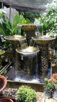 Water Feature 4x4 Waterfall