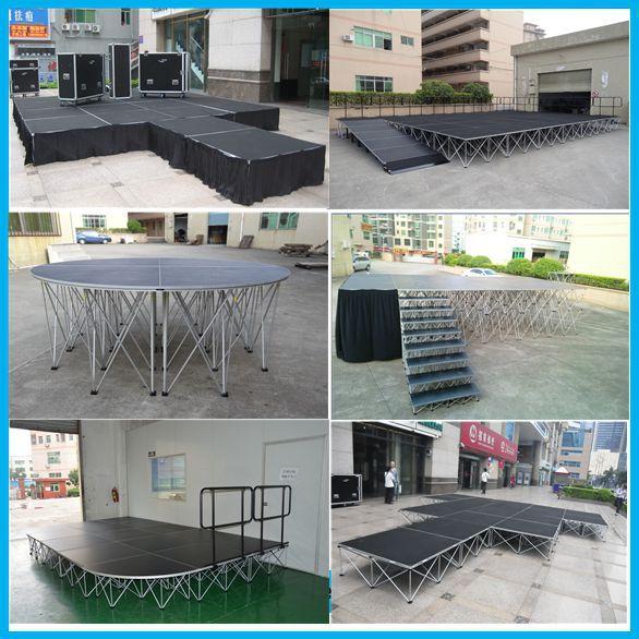 China Big Manufacturer Wedding Stage Design/stage Magic Illusions ...