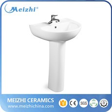 Ceramic pedestal model lavabo for children